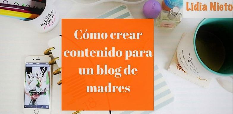 contenido original para un blog de maternidad