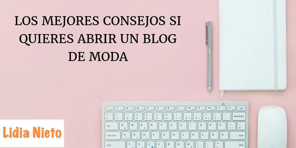 abrir un blog de moda